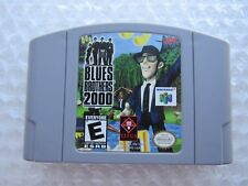 Blues Brothers 2000 Nintendo 64 N64 Authentic Video Game Cart Clean Tested GREAT