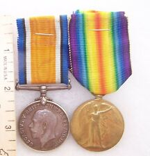 Great Britain WW I Pair Medals