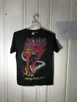 ACDC BAND TEE MENS SMALL BLACK S/S GRAPHIC B388