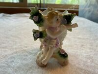 Victorian Porcelain Ltd. Ed.  #23/150 Vase with Young Maiden Book on Lap