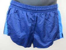Vintage Adidas 80s Shorts Blue Running Retro Vtg Shiny Football Mens D6 Medium M