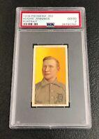 Detroit Tigers Hughie Jennings 1909 T206 Piedmont 350 PSA 2 Good Portrait