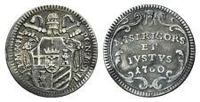 Stato Pontificio - Clemente XIII (1758 - 1769) Grosso 1760 A. II (Rif.966)