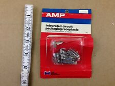 Vintage 1974 AMP Electronic Parts Integrated Circuit Packaging Receptacle pack
