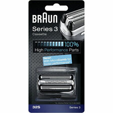 Braun Replacement Foils and Cutters for Electric Shavers
