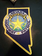 Nevada Highway Patrol Patch, old style Battle born
