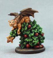 Reaper Miniatures Cat Dragon in Tree (2019) #01640 Unpainted Metal Figure