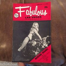 Fabulous Las Vegas Magazine Elvis Presley Show Revue Zella Lehr O'Shea 2/17/1973
