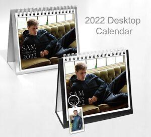 Sam Heughan 2022 Office Desktop Holiday Calendar + Key ring
