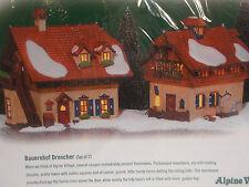 Dept 56-56229 Bauernhof Drescher Set Of 2 Alpine Village Mib