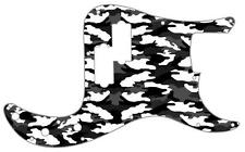 P Bass Precision Pickguard Custom Fender 13 Hole Guitar Pick Guard Camo Winter