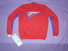 SPYDER RAD PADS Vintage New Old Stock PADDED SKI RACING SWEATER NOS 1989 NorAm M