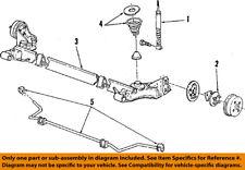 GM OEM Stabilizer Sway Bar-Rear 10097840