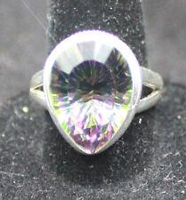 Mystic Quartz, Sterling Silver Ring