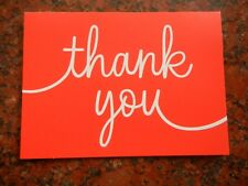 10 Pack Small Thank You Note Cards From Hallmark NWOT # 145