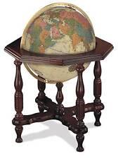 Replogle Statesman Illuminated Floor Globe - Antique Ocean - 20 Inch