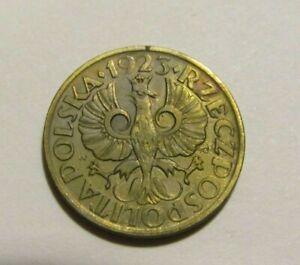 Poland 1923 2 Groszy Au Coin