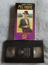 Agatha Christie's Miss Marple: 4:50 From Paddington - VHS Tape - Crime / Mystery