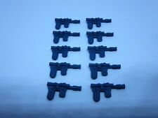 10 Blue Han Solo Blasters Weapon VERY CLOSE Star Wars for Vintage MP