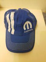 MOPAR Blue Baseball hat Cap blue white Miller's CDJR Martinsburg WV adjustable