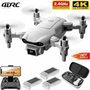 RC Drone 4K HD Wide Angle Camera WIFI FPV Drone Dual Camera Quadcopter Outdoor