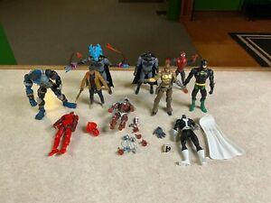 "Black Series Marvel Legends DC BAF Hasbro Toybiz 6"" Figure Customizer LOT"