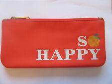 Fossil Sofia Zip Pouch -So Happy- orange-white- yellow