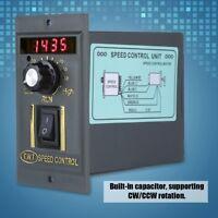 Digitaler einstellbarer stufenloser Drehzahlregler mit 220V,50Hz,400W,0-1450rpm
