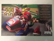 Mario KART DOUBLE DASH-UNSCRATCHED PUNTI VIP per Nintendo Gamecube