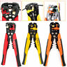 Self Adjustable Automatic Cable Wire Crimping Stripper Cutter Crimper Tool Plier