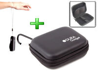 "4"" Black Case For Snooper Shots Saver S430 Camera Plus Wrist Carrying Strap"