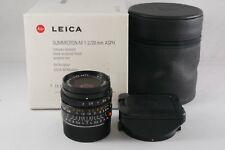 Leica Summicron-M 28mm ASPH F2 Black (6-Bit coded)11604 BOXED