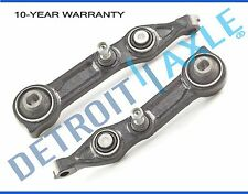Both (2) Front Lower Rearward Control Arm and Ball Joint for Mercedes-Benz