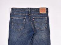 Levis 511 Slim Fit Blu Uomo Jeans Taglia 34/34