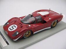 1/18 scale Tecnomodel Ferrari 512S Coda Lunga Test Le Mans 1970 car# 5 TM18-04I