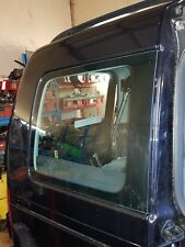 VW CADDY RIGHT O/S DRIVER SIDE REAR WINDOW QUARTER GLASS 11-14 collection only