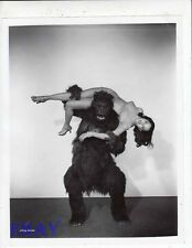 Acquanetta carried by Gorilla Photo from Original Negative Captive Wild Woman