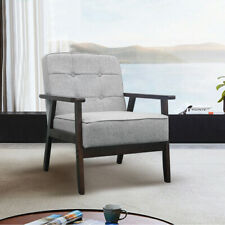 Single Sofa Guest Lounge Chair Modern Living Room Armchair Upholstered Retro