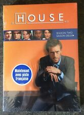 ** House: Season Two, DVD, (also French),  brand new, factory sealed!