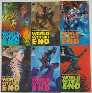 World Without End #1-6 VF/NM complete series  jamie delano  john higgins 2 3 4 5