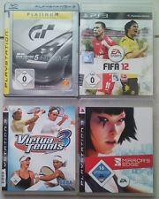 Gran Turismo 5 Prologue + Fifa 12 2012 + Virtua Tennis 3 + Mirrors Edge PS3
