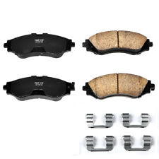 Disc Brake Pad Set-Z17 Evolution Plus Disc Brake Pad and Hardware Kit Front