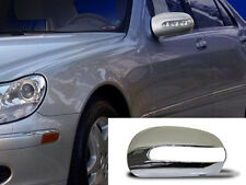 Mercedes W220 S Class Chrome Mirror Covers Set S280 S320 S350 S400 S500 S55 S65