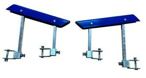 "Boat Trailer Self Centering Bunk Skids Glider Kit. 50mm X 75mm V Kit Blue. 3""x2"""