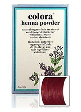 Colora Henna Powder Natural Organic Dye Hair Color Treatment Conditioner 2oz