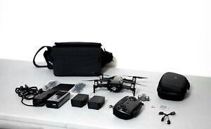 DJI Mavic Air Fly More Combo - Foldable, Pocket-Portable Drone - Onyx Black