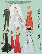1960's  - Barbie and her boyfriends ballgowns ,wedding dress, etc