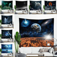 Psychedelic Galaxy Universe Tapestry Wall Hanging Space Star Tapestry Home Decor