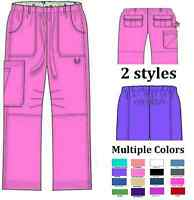 Womens Nurses Stylish Scrub Pants 2 styles Multiple Colors and Sizes Dental NWT