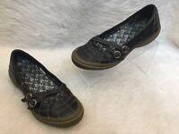 Merrell Women's Zodiac Black Mary Jane Style Adjustable Buckle Shoes Size 7